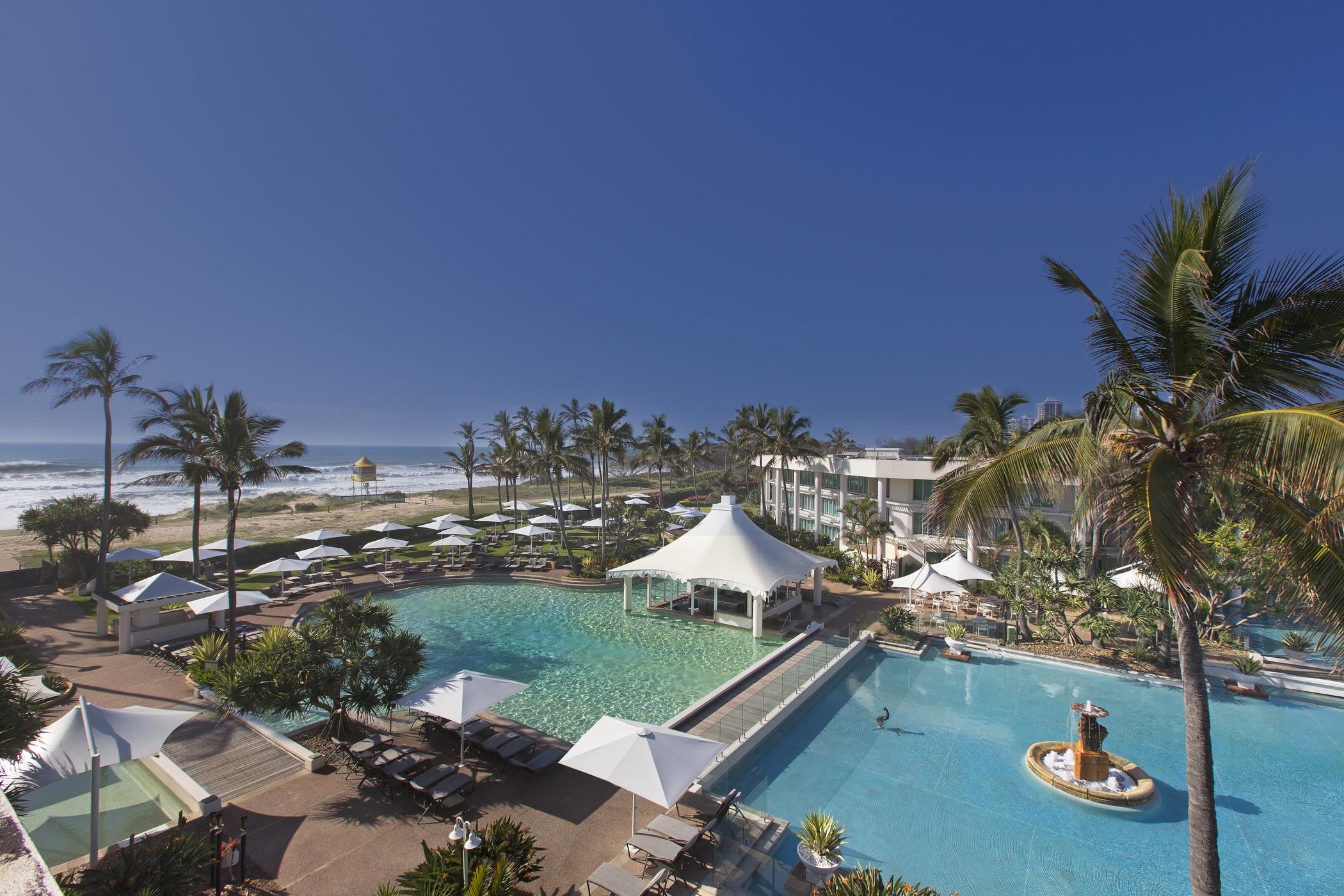 Sheraton-Mirage-Resort Aerial