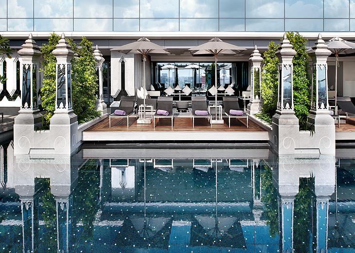 st regis bangkok_pool