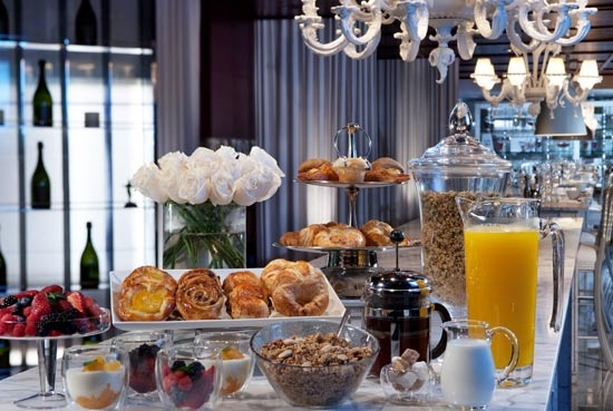 Breakfast at SLS Hotel Beverly Hills, LA