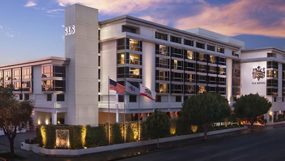 SLS Hotel Beverly Hills, Exterior