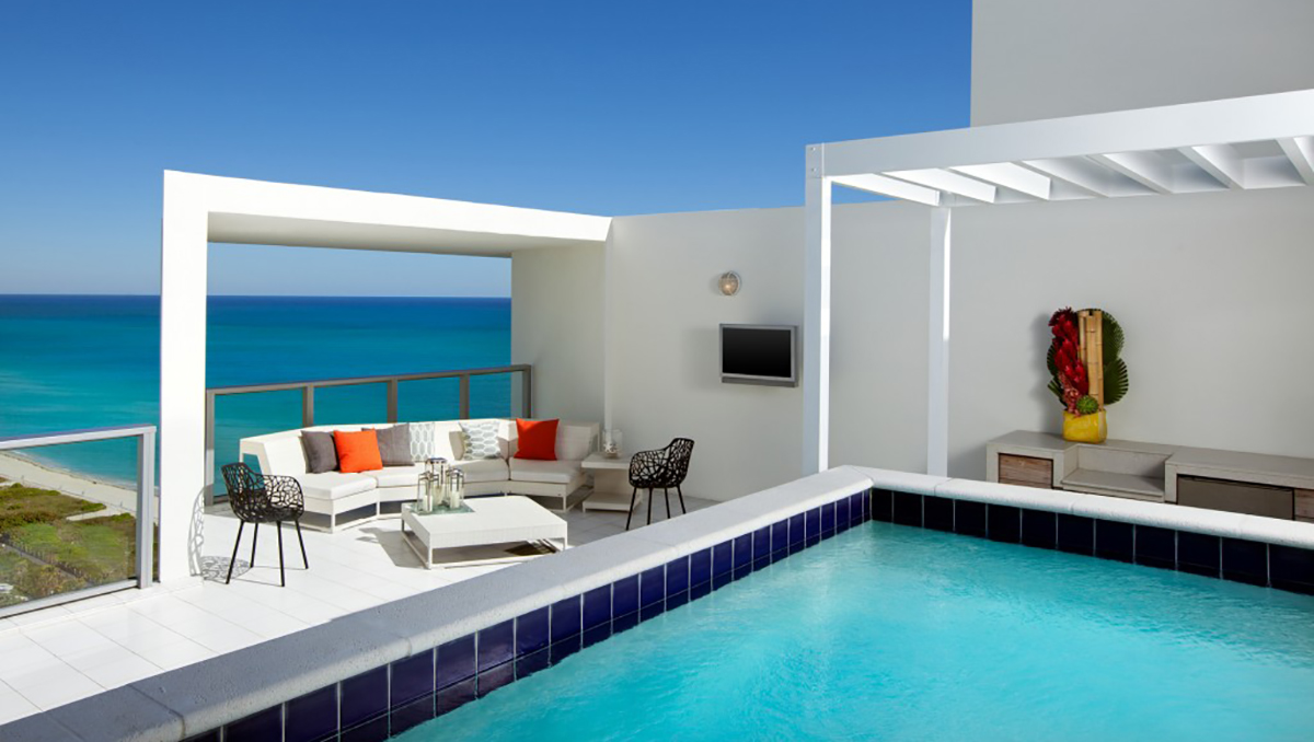 W Hotel South Beach -Penthouse Wow Suite Rooftop Terrace