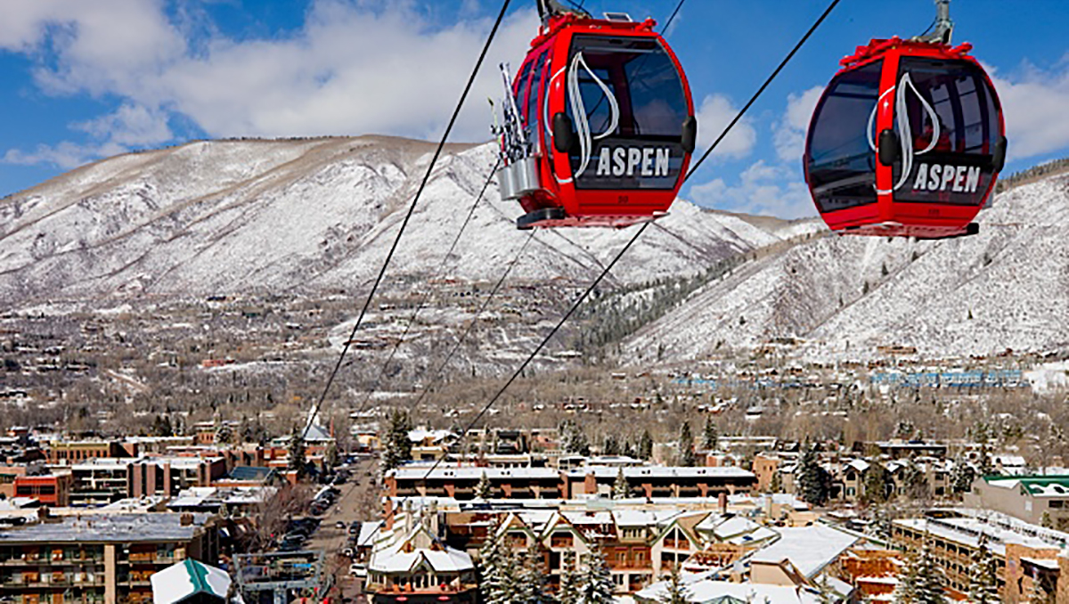 The Little Nell is at the base of the Silver Queen Gondola on Aspen Mountain