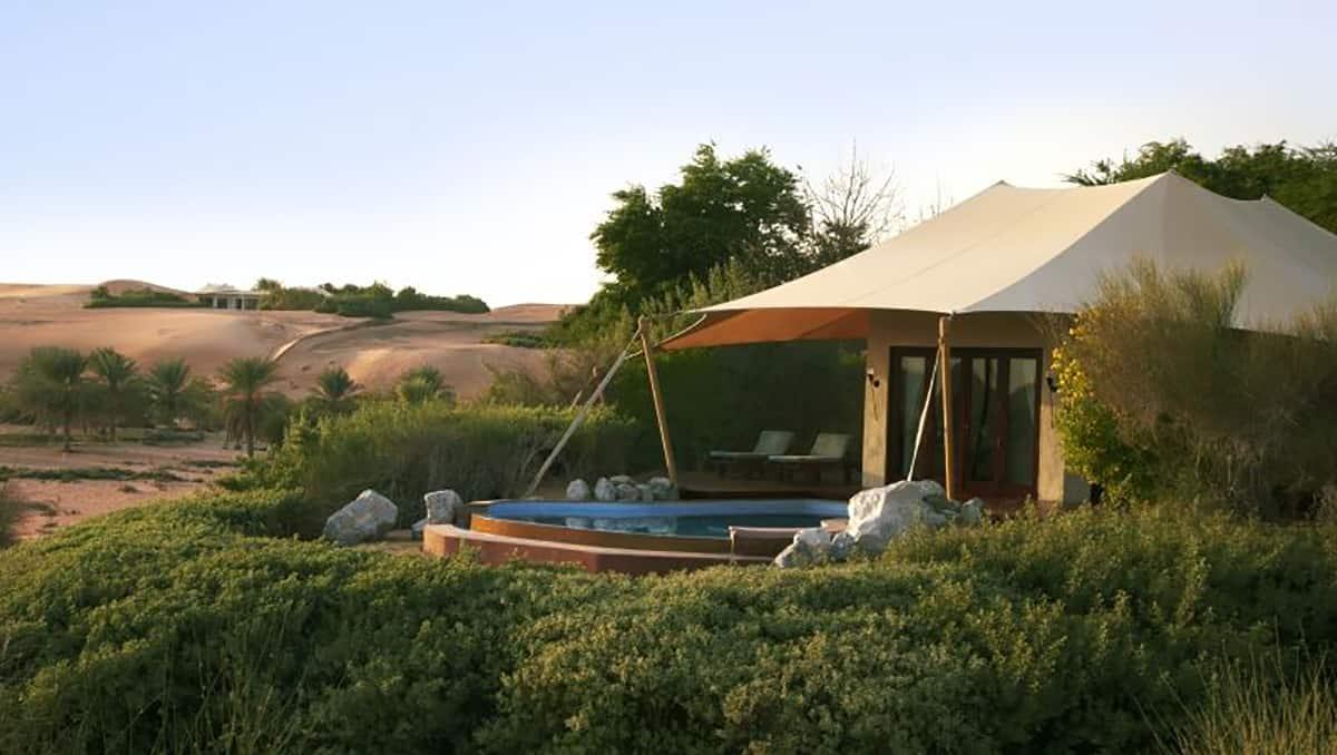 Villas at Al Maha Desert Resort