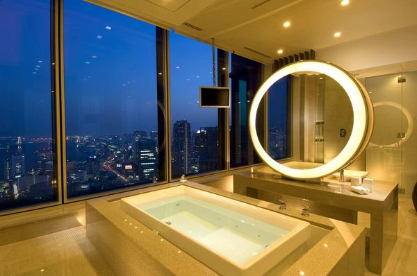 Suite Bath Conrad Tokyo