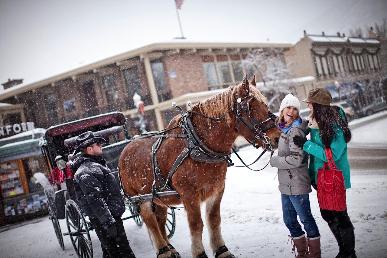 Carriage ride in Aspen