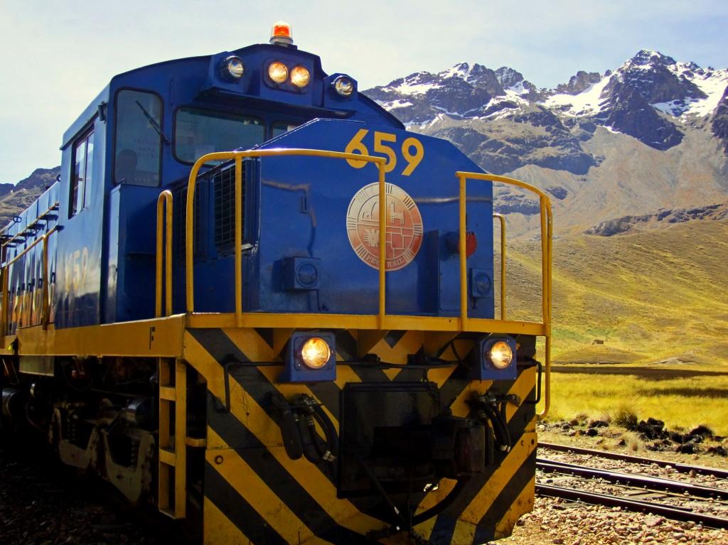 The Andean Explorer Train