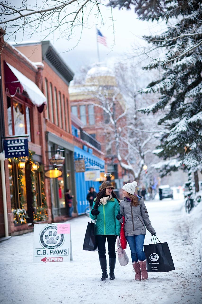 shopping in Aspen