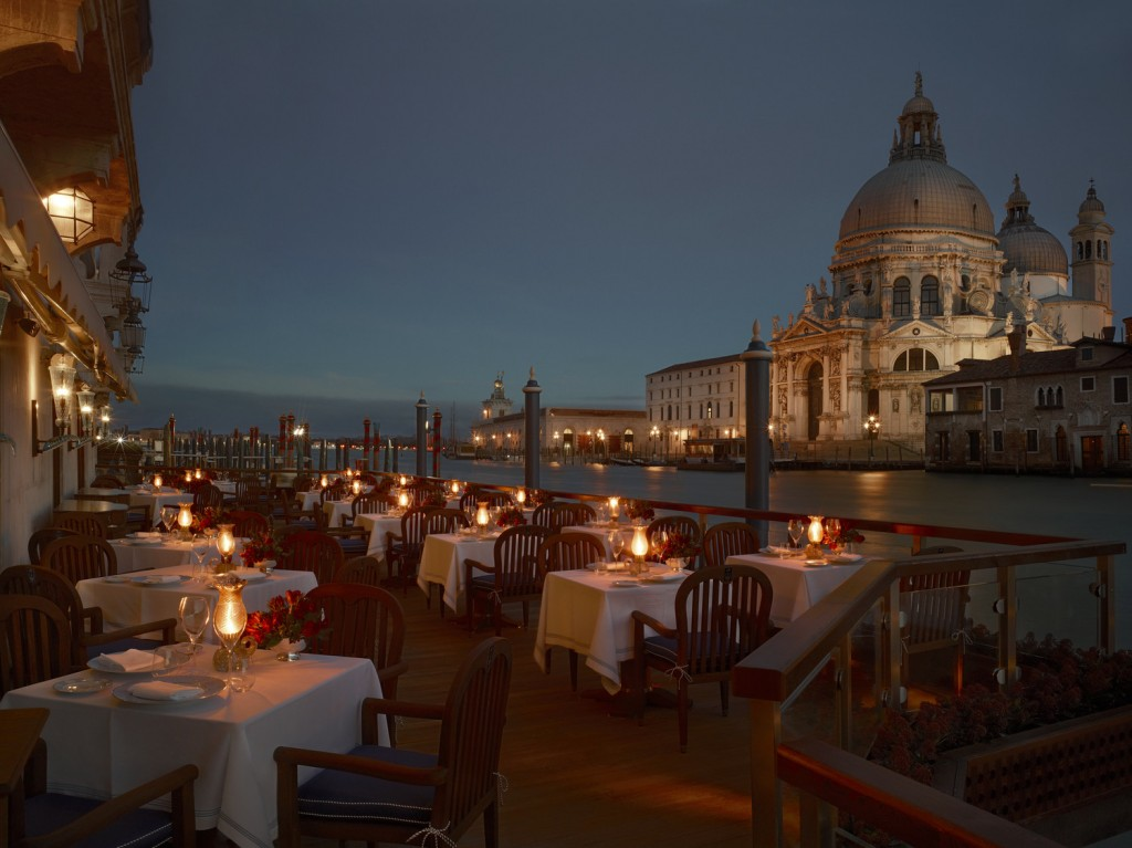 Best suites in venice spectacular gritti palace the for Restaurant with terrace