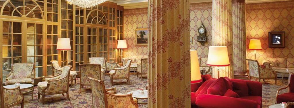 Inside Kulm Hotel Stmoritz
