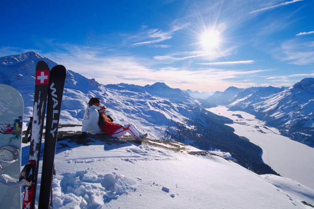 Skiining-St-Moritz