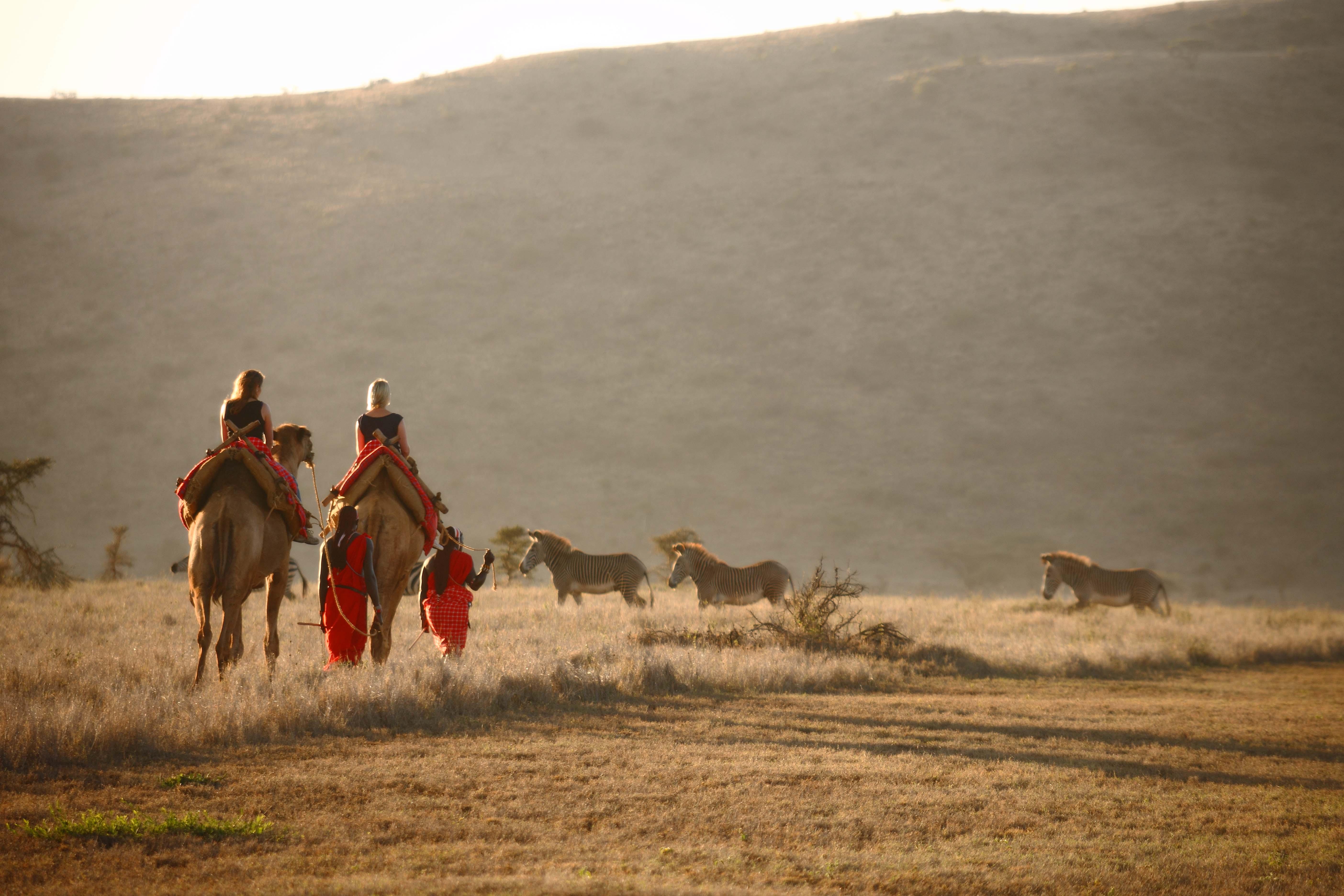 Lewa Safari Camp - Camel Trekking