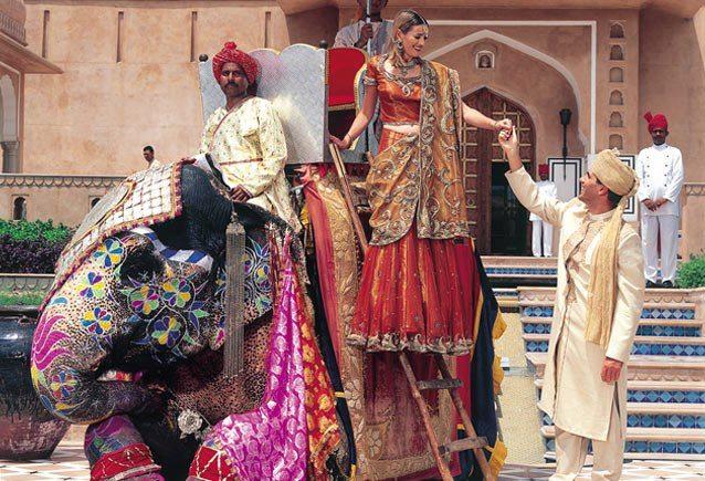 Oberoi Raj Vilas Welcome Jaipur
