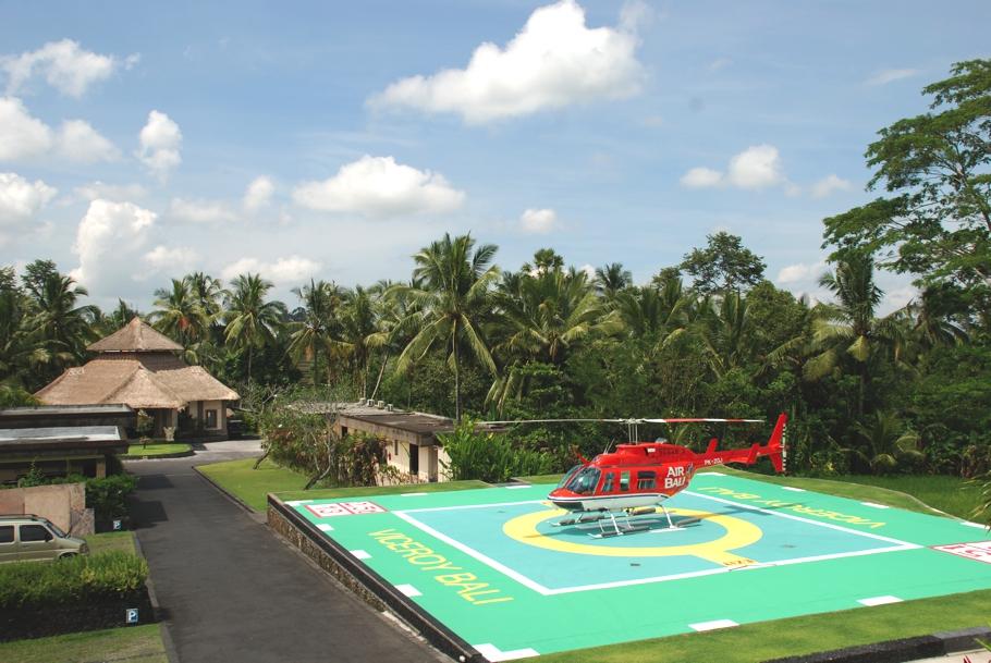 Viceroy-Bali-helipad