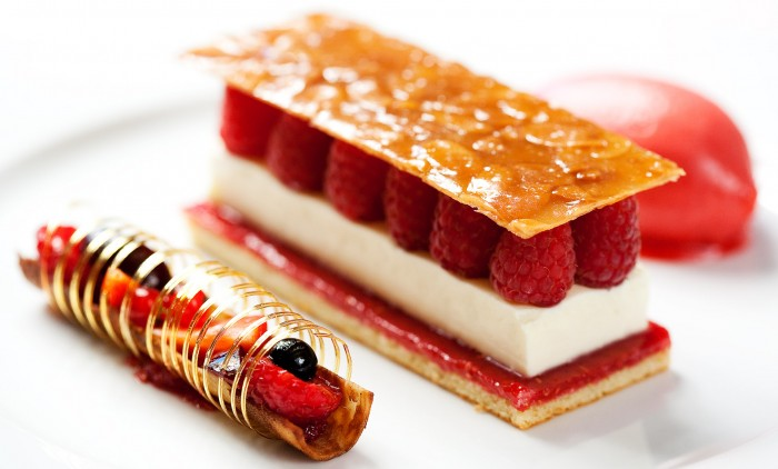 New recipes from famous restaurants around the world on for Best dessert recipes in the world