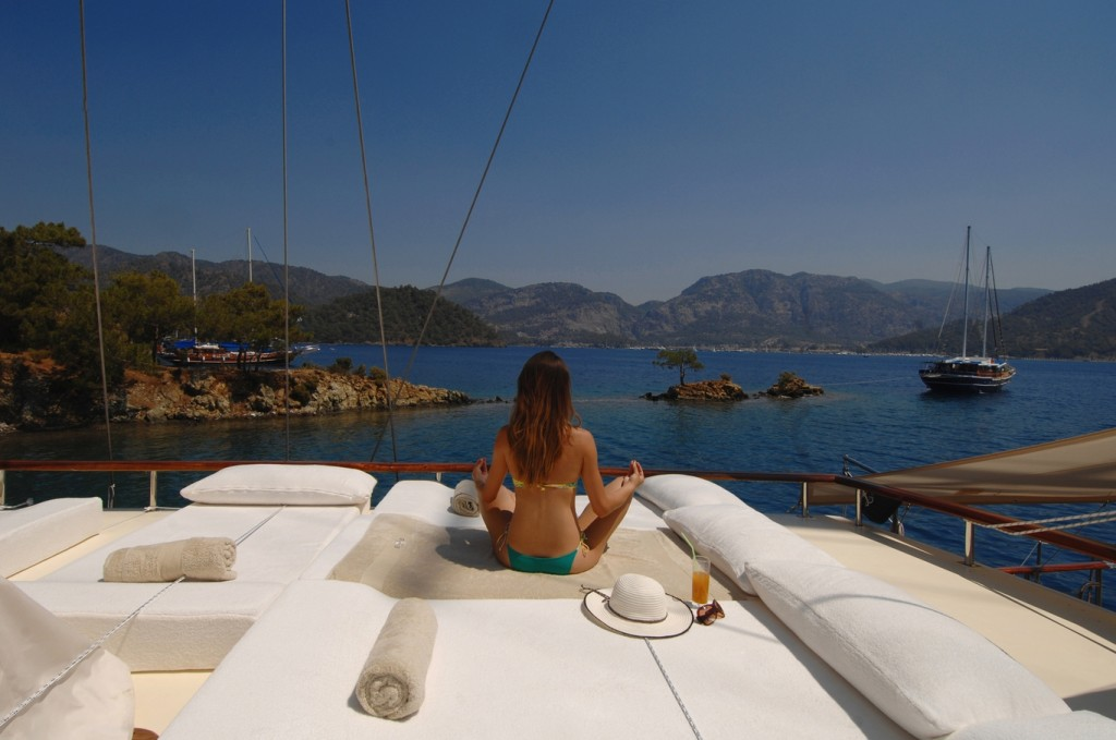 Enjoying the freedom of luxury on board the gulet Mare Nostrum
