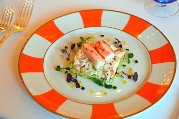 Fine Dining at Raffles Grill - Aleney de Winter