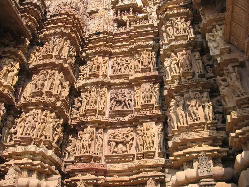Khajuraho_temple Carvings