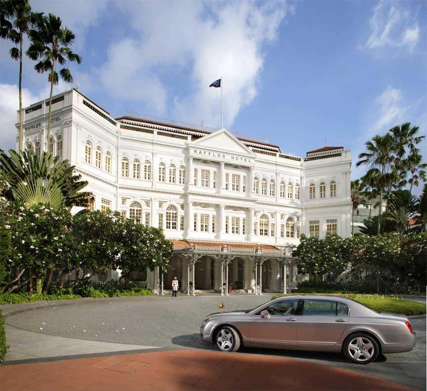 Raffles Hotel Facade (Day)- Bentley