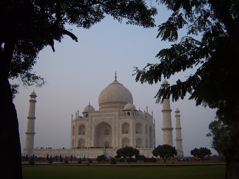 Taj at Sunset