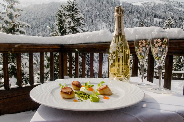 Champagne-scallops-chalet