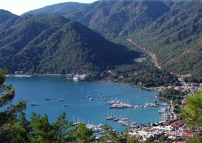 Gocek harbor, Turkey