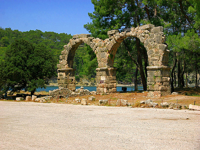 Phaselis Turkey