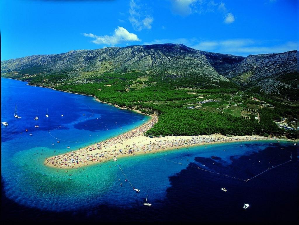 Bol Zlatni Rat Golden Cape Beach Brac Croatia