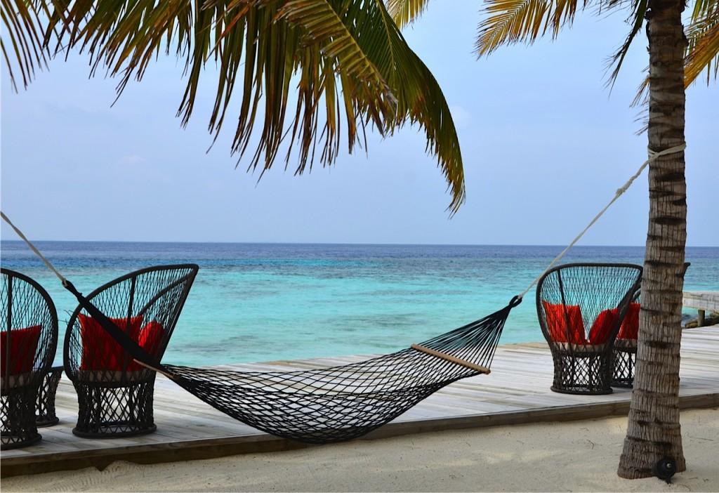Dhevanafushi-hammock