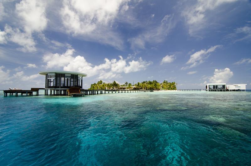 Jumeirah Dhevanafushi - Arrival Jetty
