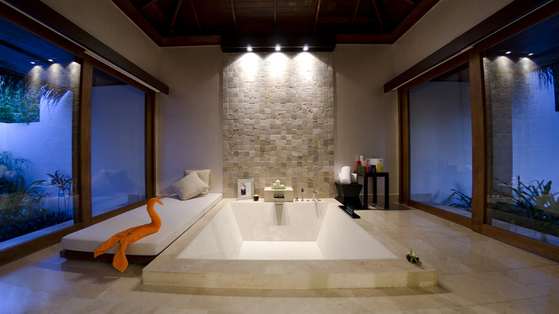 Jumeirah Dhevanafushi - Island Revive Bathroom