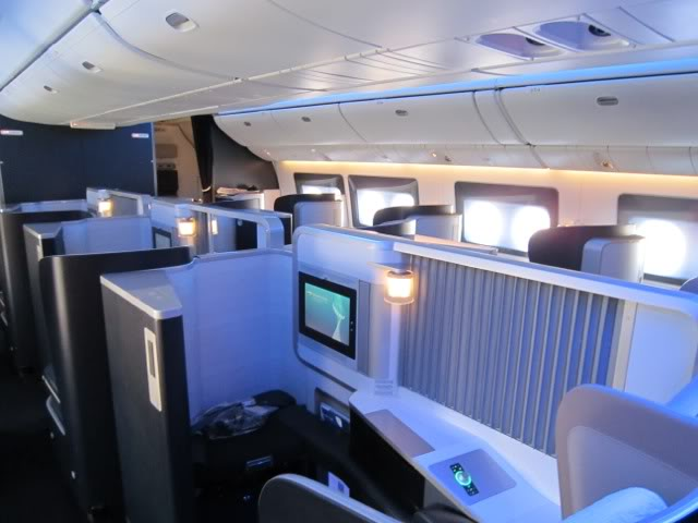 Review Of First Class British Airways Service London