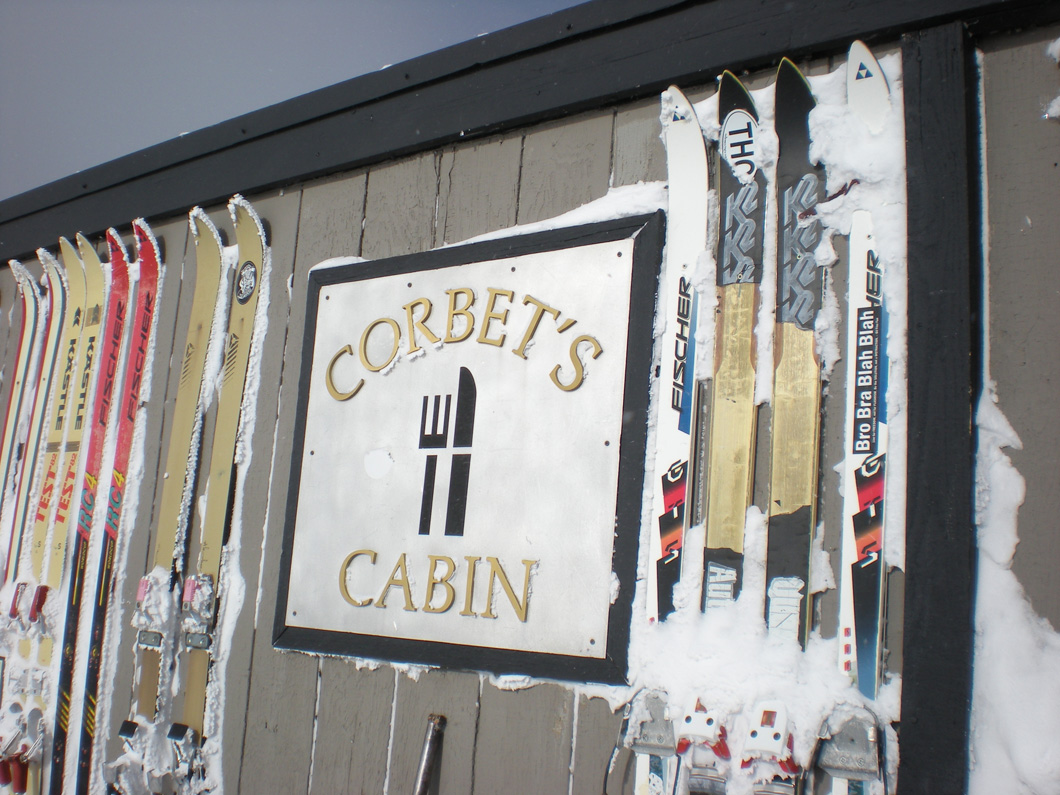 Corbet's Cabin at the top of the the tram