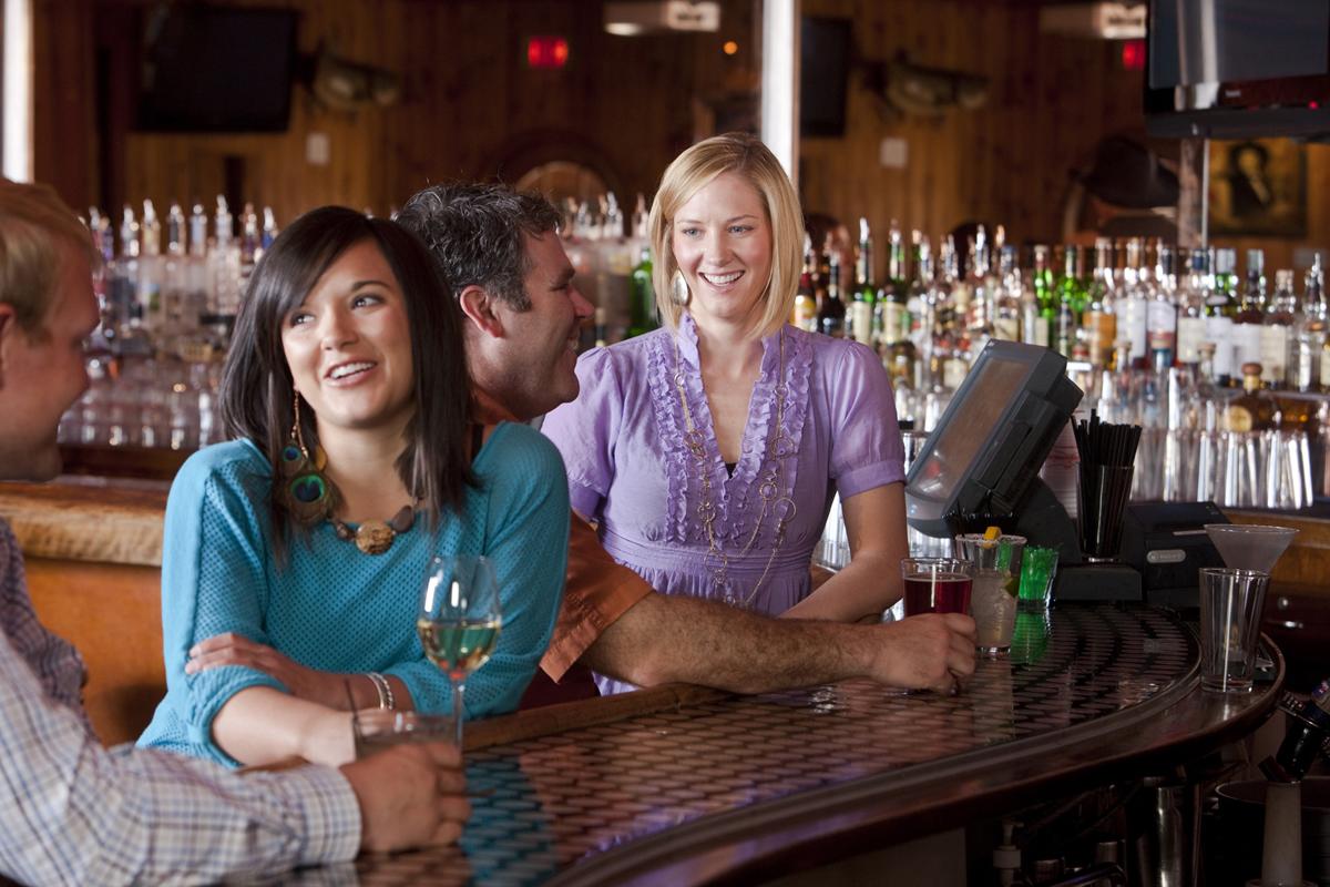 Silver Dollar Bar Scene