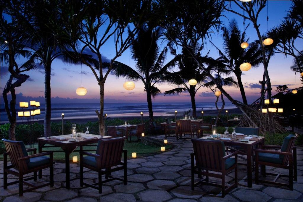 Frangipani dinner at Oberoi Bali
