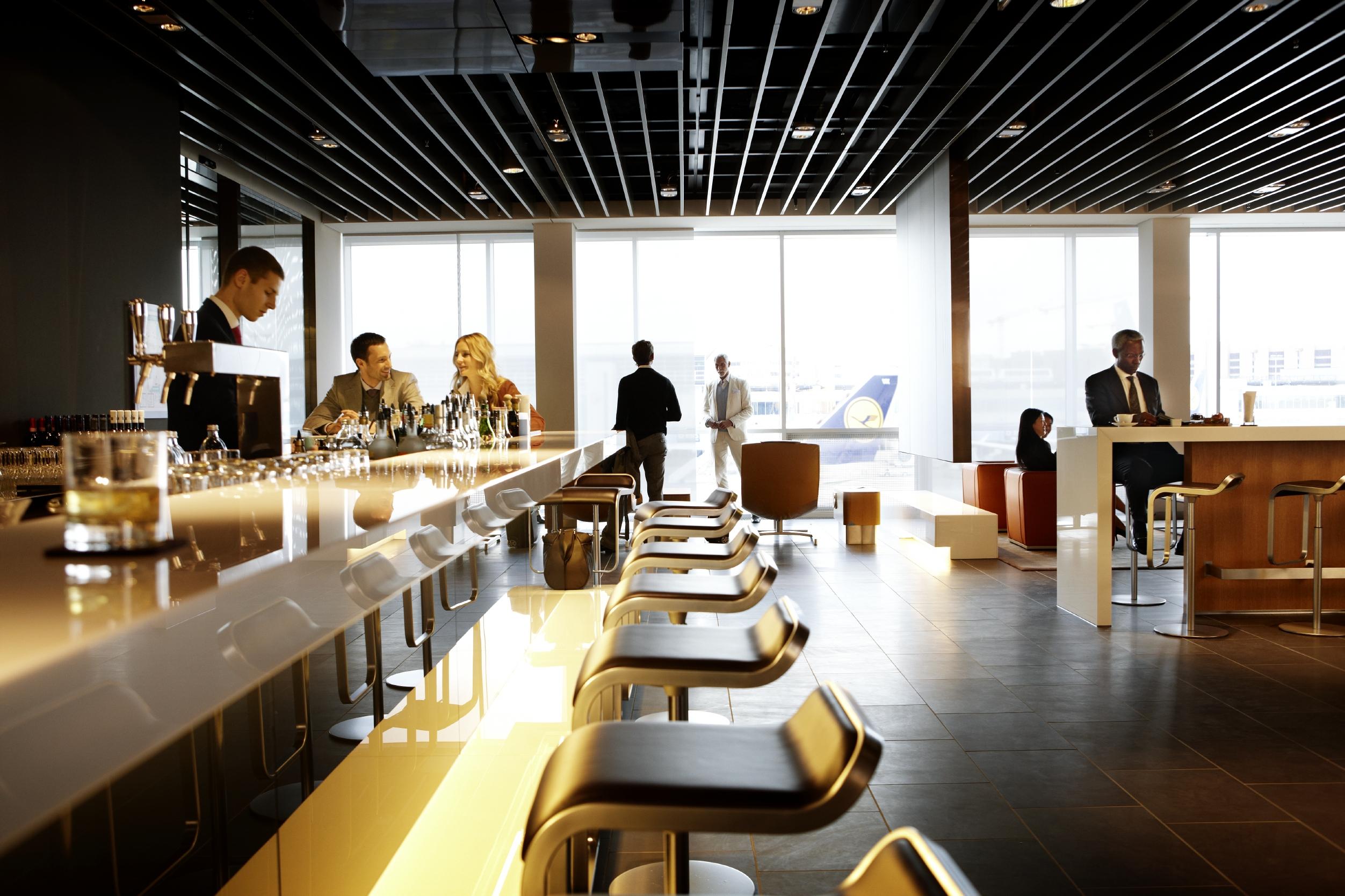 Lufthansa First Class Lounge