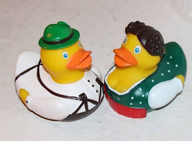 Lufthansa Rubber Duck