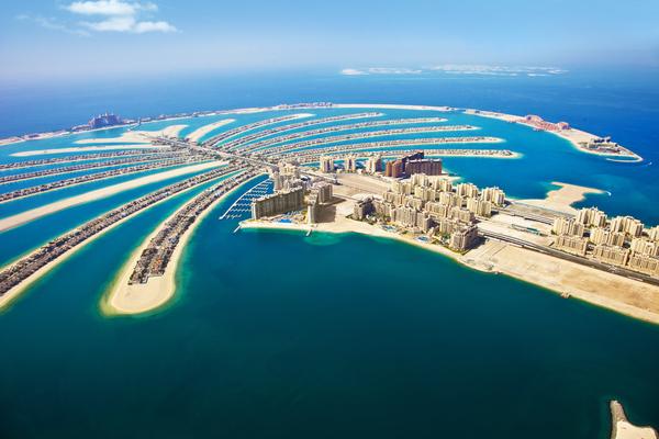 The Palm in Dubai, UAE