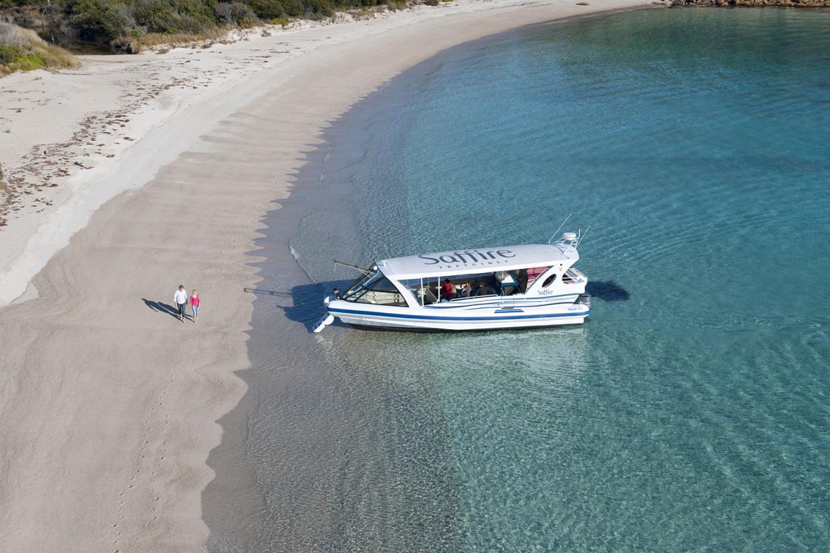 Saffire Boat
