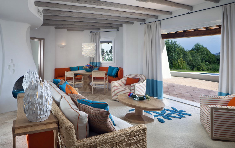 Romazzino-Villa Giada - Living Room