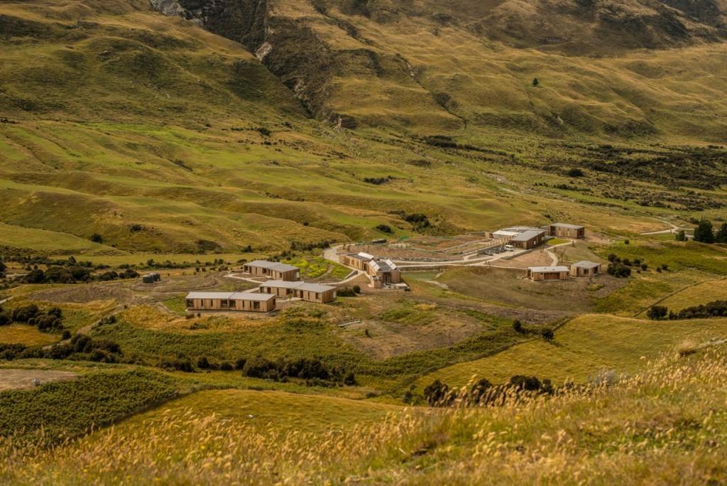 Aro Ha retreat near Queenstown, New Zealand
