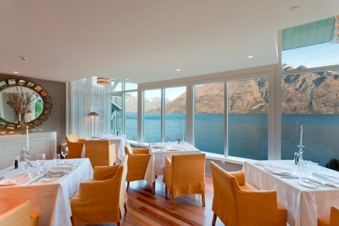 Dining Room at Matakauri Lodge, South Island, New Zealand