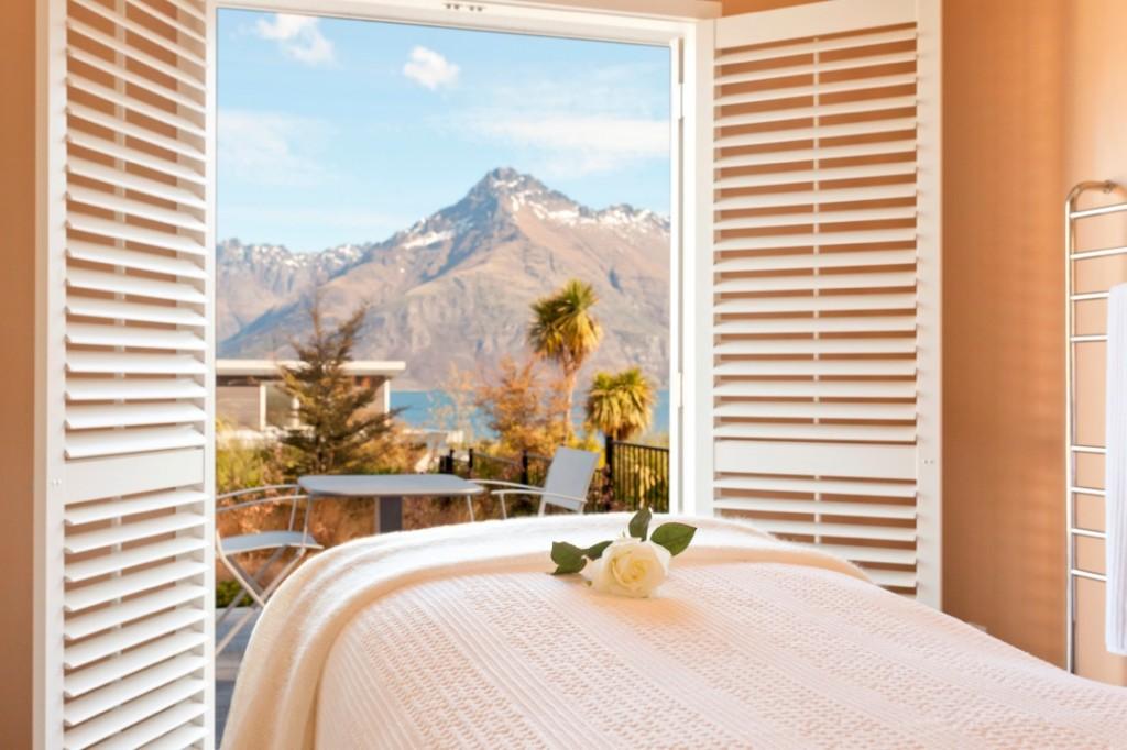Spa Suite at Matakauri Lodge, South Island, New Zealand