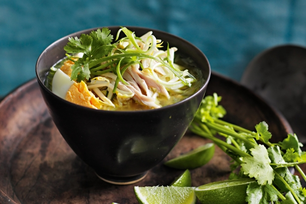 Balinese chicken soup