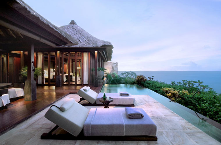 Our villa in bulgari hotel bali