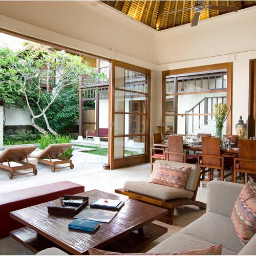 Living room at our 4 bedroom villa at Karma Jimbaran, Bali