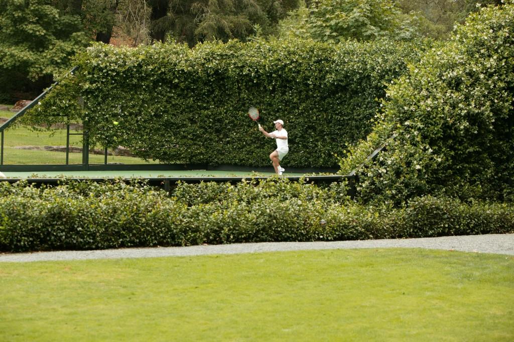 Tennis at Meadowood Resort Napa Valley