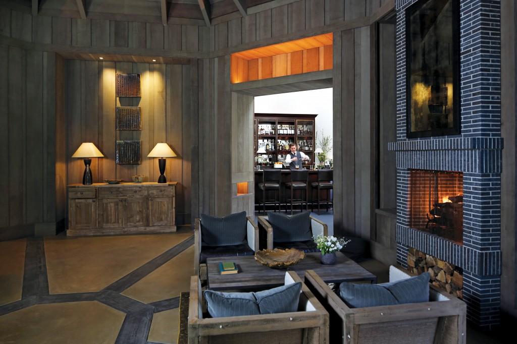 Restaurant lounge in Meadowood Resort Napa Valley