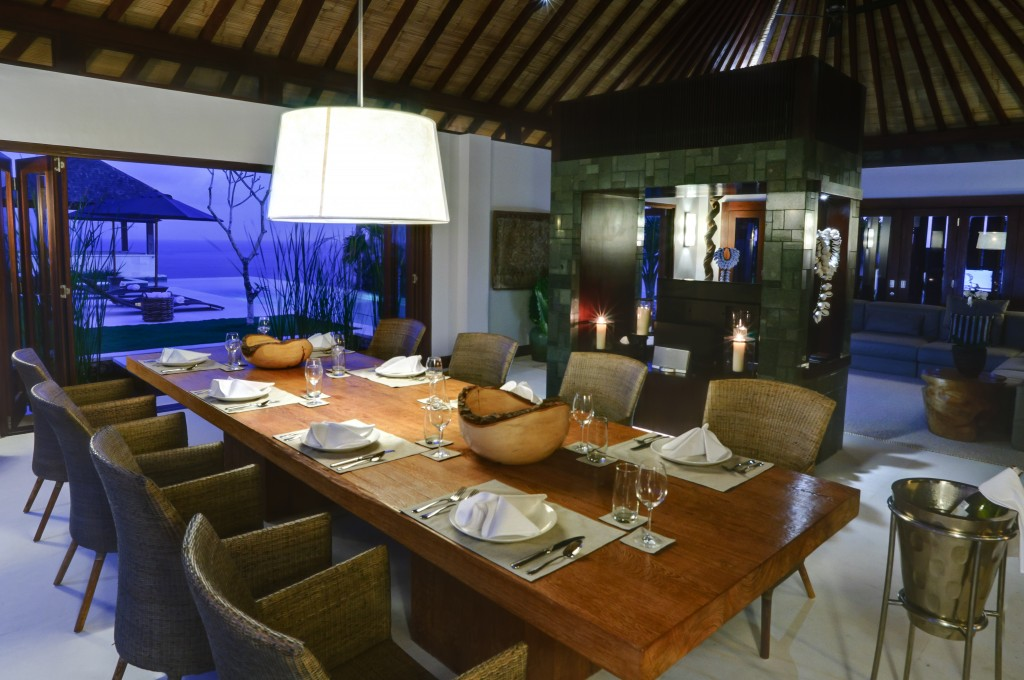 Semara Luxury Villas, Uluwatu, Villa Nora Dining Room