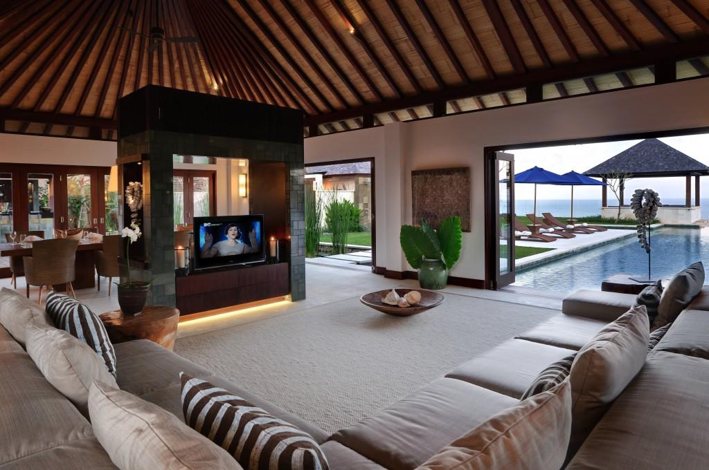 Semara Luxury Villas Bali - Villa Nora Livng Room