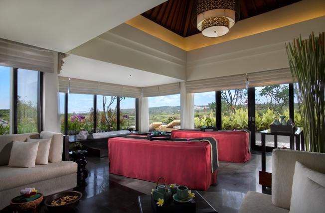 SPA treatment room at Banyan Tree Ungasan, Bali